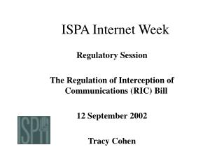 ISPA Internet Week