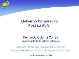 Gobierno Corporativo  Post  La Polar