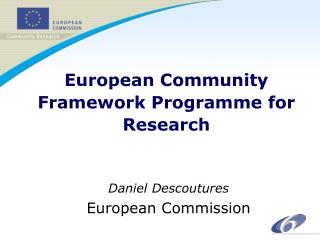 European Community Framework Programme for Research