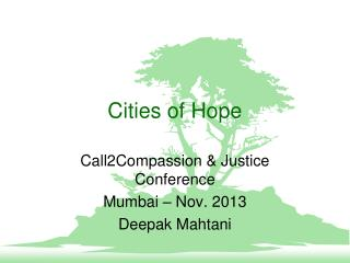 Cities of Hope