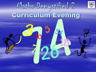 Maths Demystified 2  Curriculum Evening