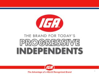 IGA Integrated Marketing Components