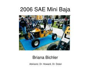 2006 SAE Mini Baja