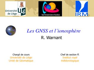 Les GNSS et l'ionosphère