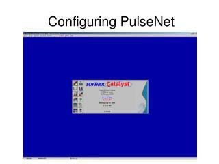 Configuring PulseNet