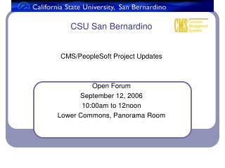 CSU San Bernardino