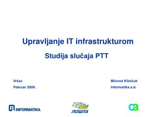 Upravljanje IT infrastrukturom