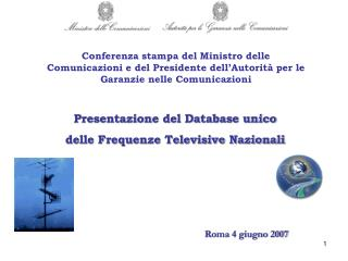 Roma 4 giugno 2007