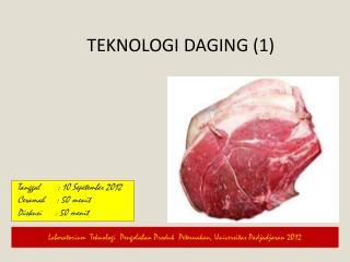 Teknologi Daging  (1)