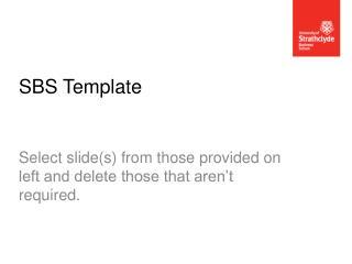 SBS Template