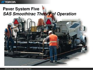 Paver System Five SAS Smoothtrac Theory of Operation