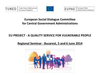 SDC CGA EU project – a quality service for vulnerable people
