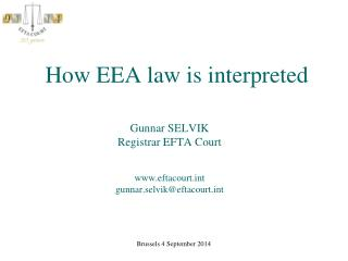 How EEA law is interpreted
