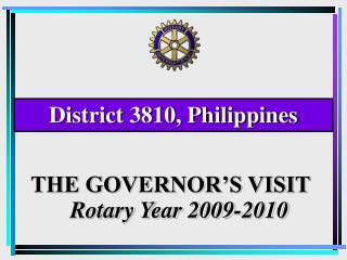 District 3810, Philippines