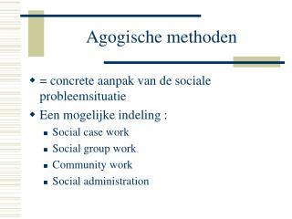 Agogische methoden