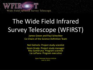 The Wide Field Infrared Survey Telescope (WFIRST)