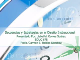Secuencias y Estrategias en el Dise o Instruccional