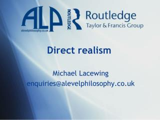 Direct realism