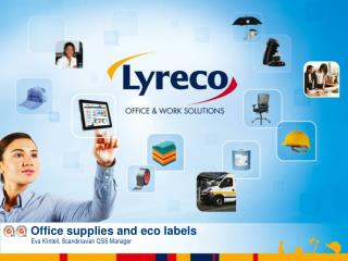 Office supplies and  eco  labels