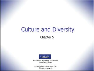Culture and Diversity