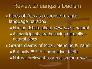 Review Zhuangzi's Daoism