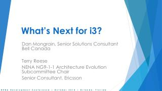 What's Next for i3?