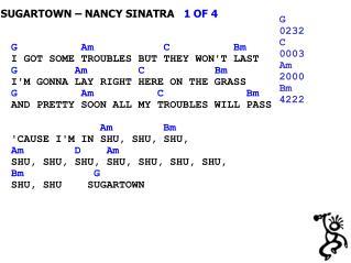 SUGARTOWN – NANCY SINATRA    1 OF 4