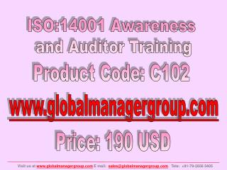 ISO 14001 Auditor Training