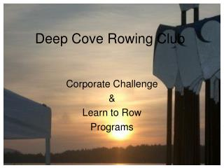 Deep Cove Rowing Club