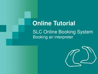 SLC Online Booking System