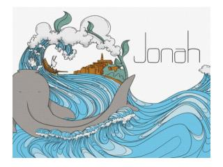 This is not repentance  Jonah admits his  sin, but does not forsake it