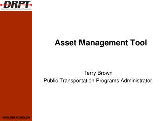 Asset Management Tool