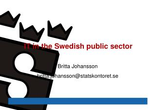 IT in the Swedish public sector