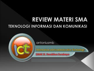 REVIEW MATERI SMA