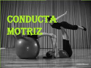 CONDUCTA MOTRIZ