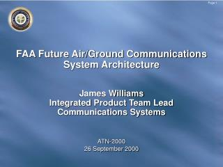 FAA Future Air