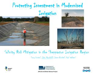 Protecting Investment in Modernised Irrigation