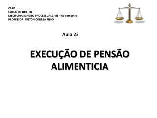 CEAP CURSO DE DIREITO DISCIPLINA: DIREITO PROCESSUAL CIVIL – 6o  semestre