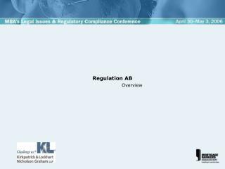 Regulation AB