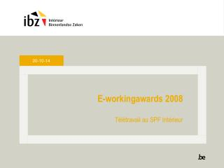 E-workingawards  2008