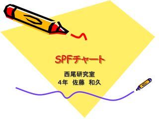 SPF チャート