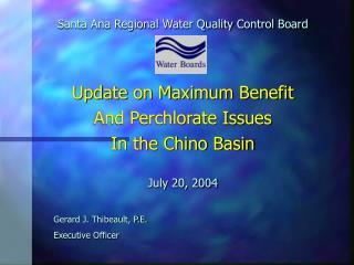 Santa Ana Regional Water Quality Control Board