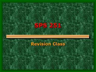 SPS 251