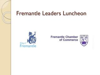 Fremantle Leaders Luncheon