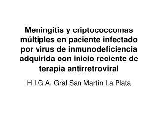 H.I.G.A. Gral San Martín La Plata
