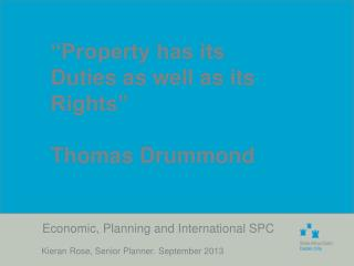 Economic, Planning and International SPC