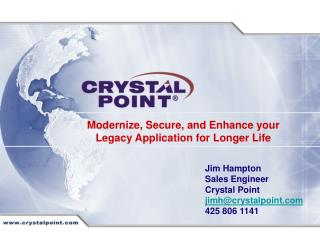 Modernize, Secure, and Enhance your Legacy Application for Longer Life