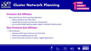 Cluster Network Planning
