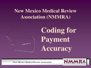 New Mexico Medical Review Association NMMRA