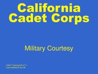 California Cadet Corps